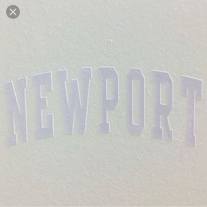 newport sticker!
